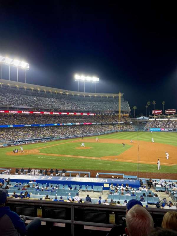 Dodger Stadium, section: 138LG, row: D, seat: 1
