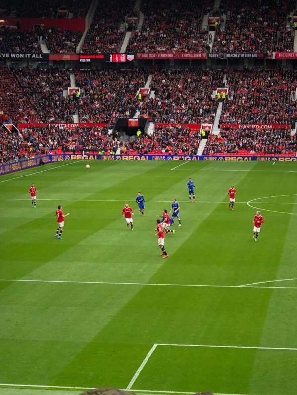 Old Trafford, section: W205, row: 15, seat: 201