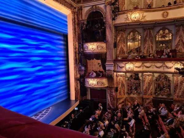 Novello Theatre, section: Dress Circle, row: AA, seat: 13