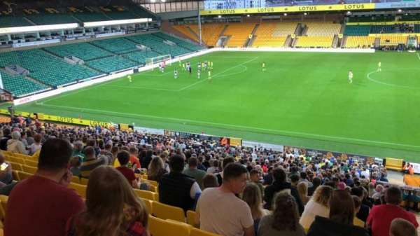 Carrow Road, section: L, row: BB