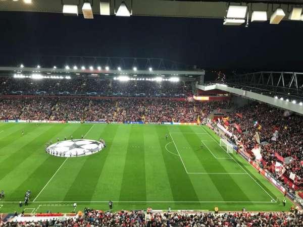 Anfield, section: U6, row: 64, seat: 178