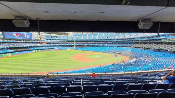 Rogers Centre, section: 234R, row: 12, seat: 6