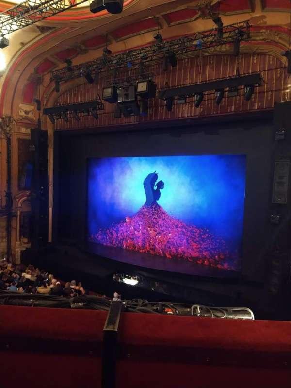 Bristol Hippodrome, section: Grand Circle, row: B, seat: 5