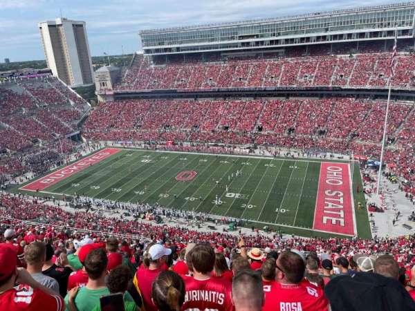 Ohio Stadium, section: 16C, row: 37, seat: 25
