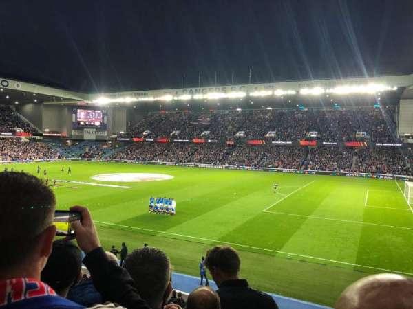 Ibrox Stadium, section: MFG, row: D, seat: 0054