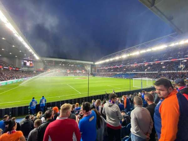 Ibrox Stadium, section: BF5, row: J, seat: 140