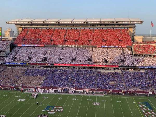 Kyle Field, section: 403, row: 11, seat: 12