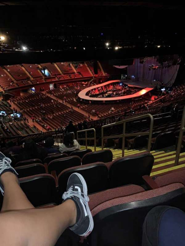 The Forum, section: 205, row: 22, seat: 1