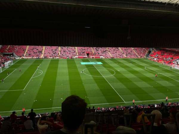 Anfield, section: Ce7, row: 21, seat: 171