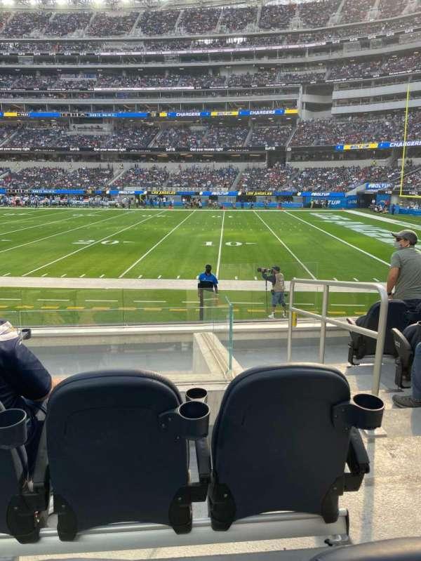 SoFi Stadium, section: C134, row: 6, seat: 1-2