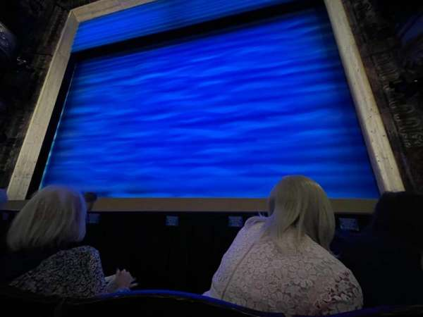 Novello Theatre, section: Stalls, row: D, seat: 10