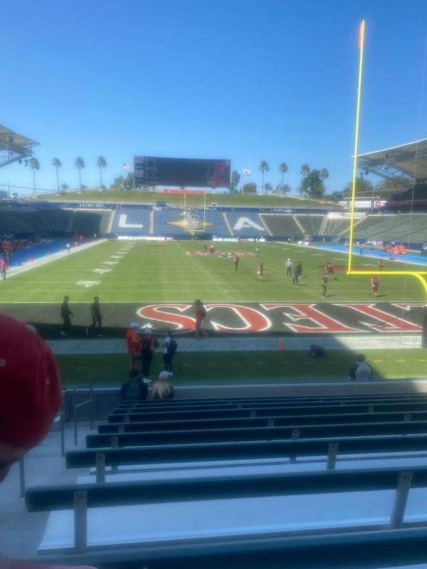 Dignity Health Sports Park, section: 101, row: L, seat: 27
