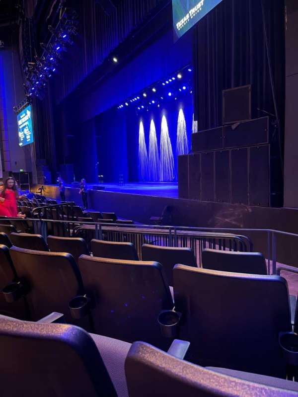 The Theatre at Grand Prairie, section: 101, row: M, seat: 4