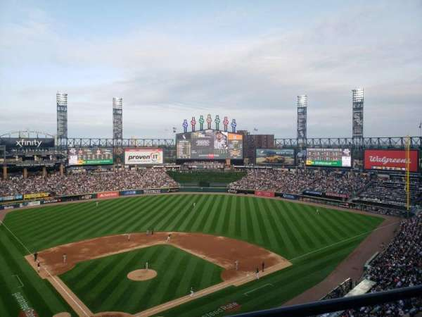 Guaranteed Rate Field, section: 534, row: 11, seat: 12