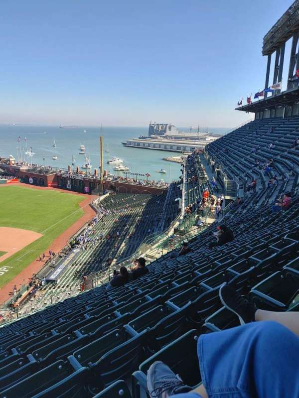 Oracle Park, section: VR314, row: 13, seat: 28