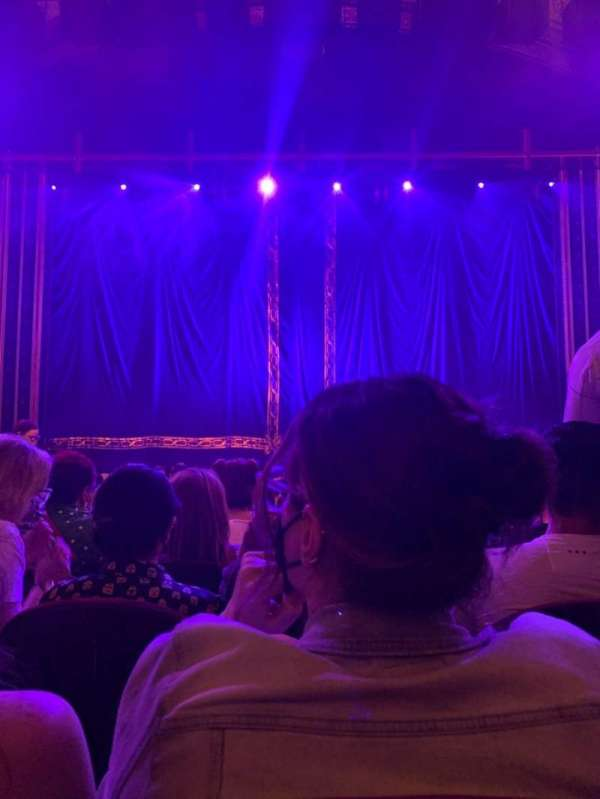 Brooks Atkinson Theatre, section: Orchestra C, row: L, seat: 108