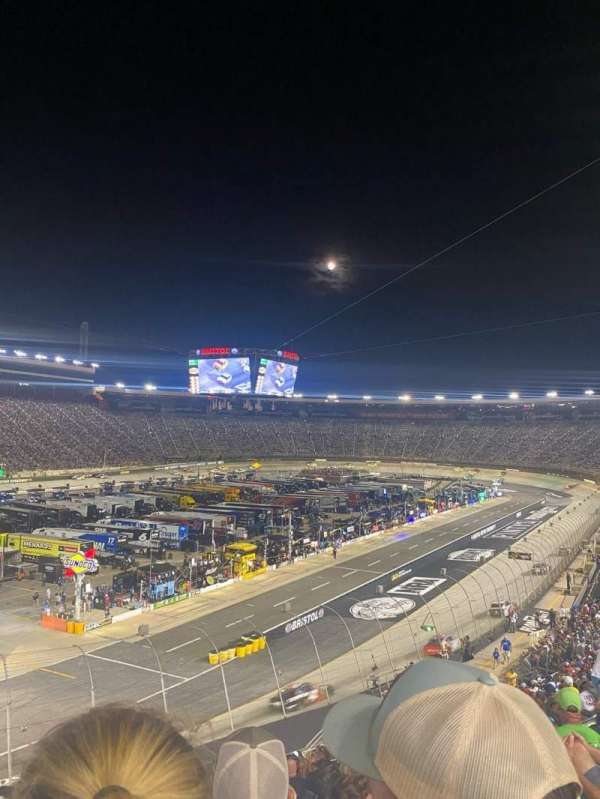 Bristol Motor Speedway, section: Petty D, row: 33, seat: 3