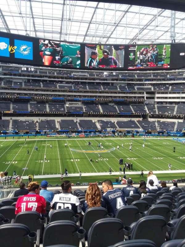 SoFi Stadium, section: VIP245, row: 13, seat: 16