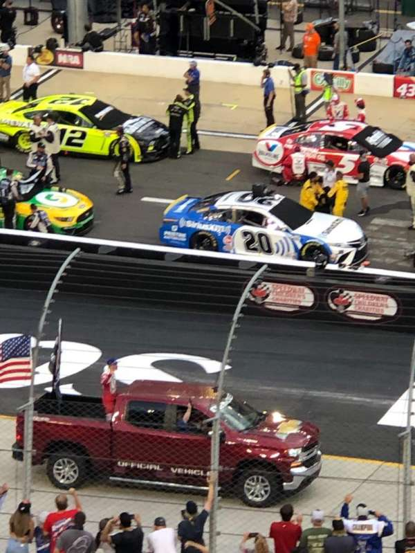 Bristol Motor Speedway, section: Pearson L, row: 44, seat: 2