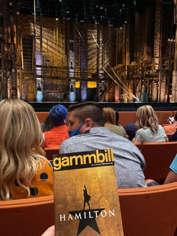 ASU Gammage, section: ORVIP1, row: 5, seat: 17