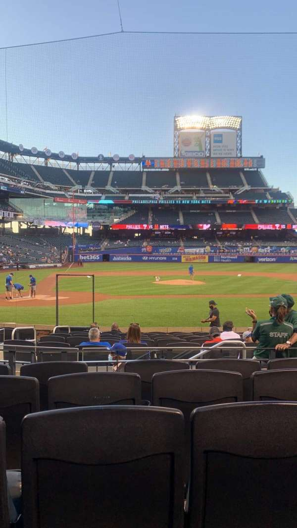 Citi Field, section: 12, row: 13, seat: 7