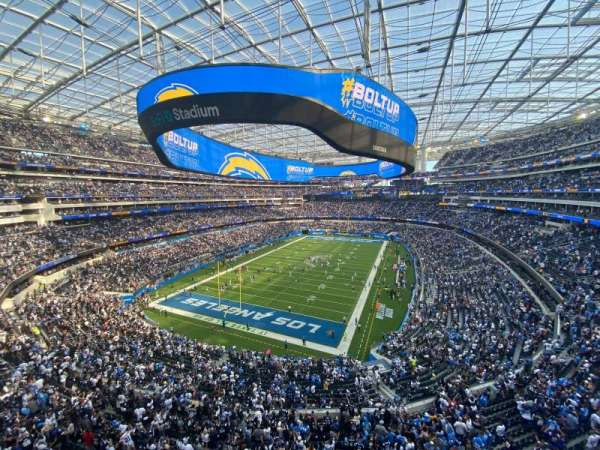 SoFi Stadium, section: 311, row: 8, seat: 11-12