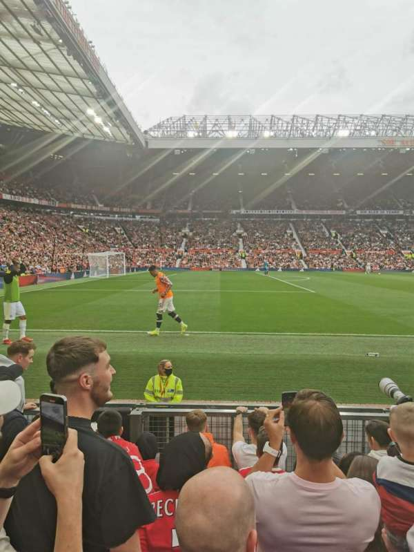 Old Trafford, section: Sth122, row: GG