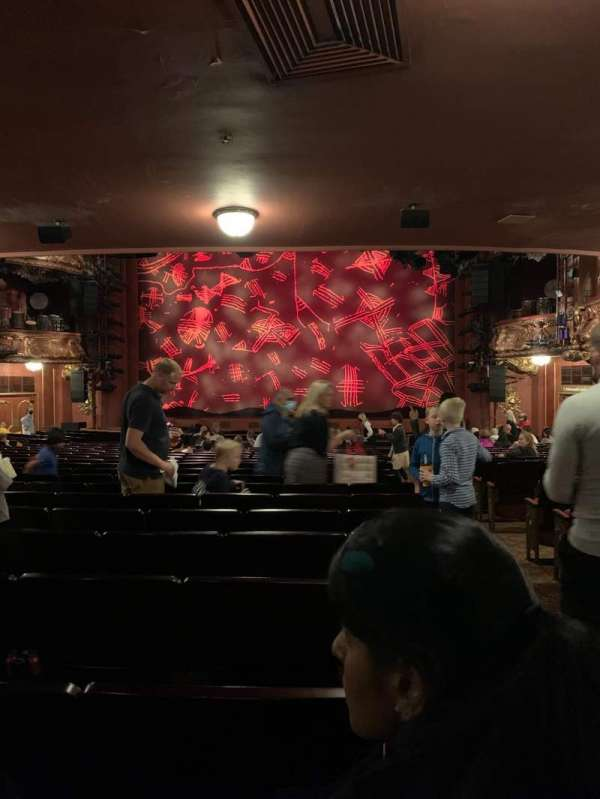 Lyceum Theatre (West End), section: Stalls, row: Z, seat: 15
