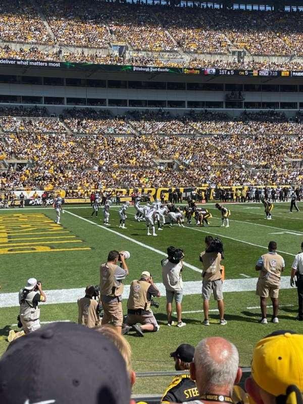 Heinz Field, section: 130, row: D, seat: 10