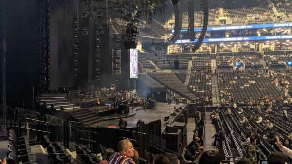 Barclays Center, section: 26, row: 12, seat: 1&2