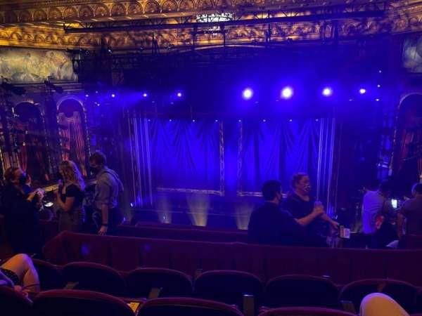 Brooks Atkinson Theatre, section: Rear Mezzanine RC, row: H, seat: 110