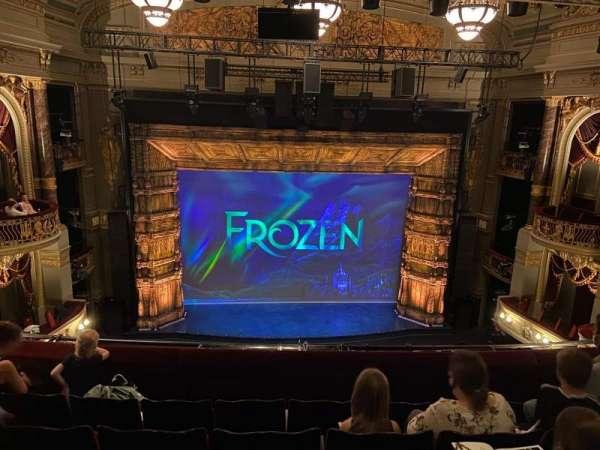 Theatre Royal Drury Lane, section: Grand Circle, row: E, seat: 29
