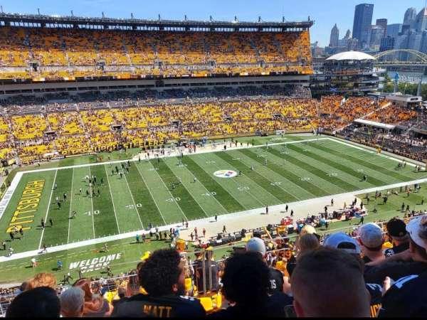 Heinz Field, section: 532, row: J, seat: 11
