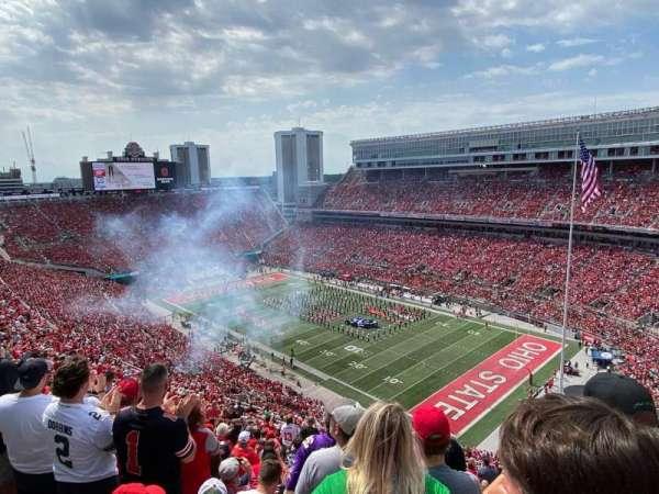 Ohio Stadium, section: 12C, row: 32, seat: 19