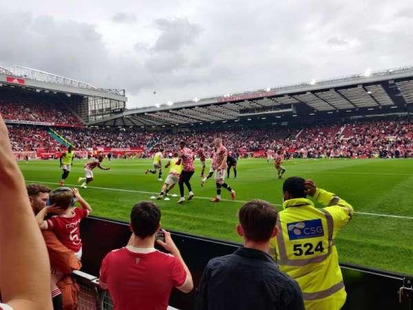 Old Trafford, section: N1411, row: CC, seat: 38