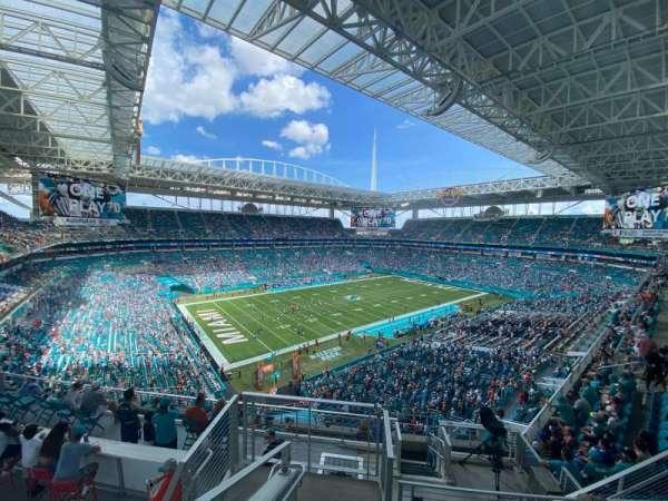 Hard Rock Stadium, section: 352, row: 11, seat: 16