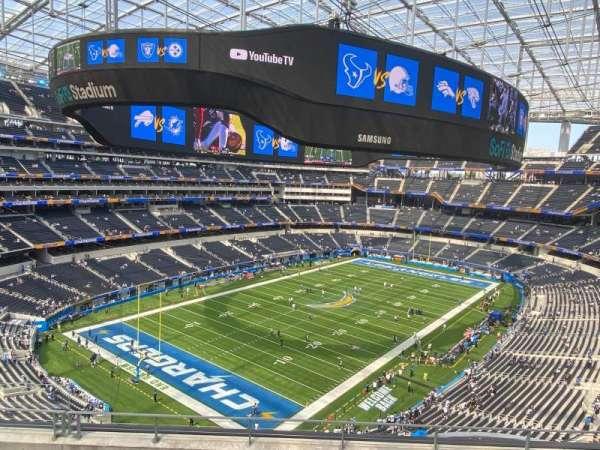 SoFi Stadium, section: 341, row: 6, seat: 13-14