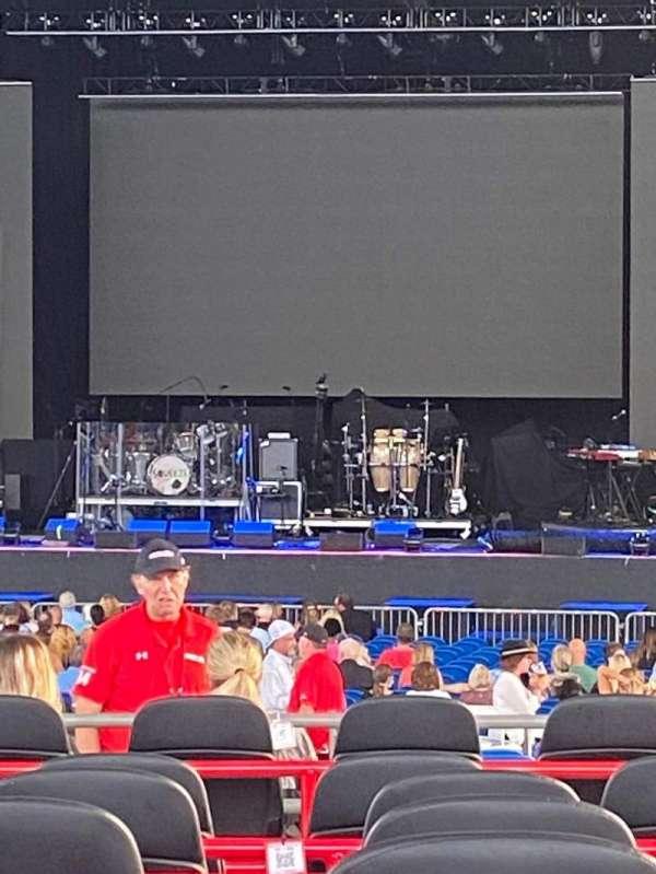 MidFlorida Credit Union Amphitheatre, section: 9, row: K, seat: 58