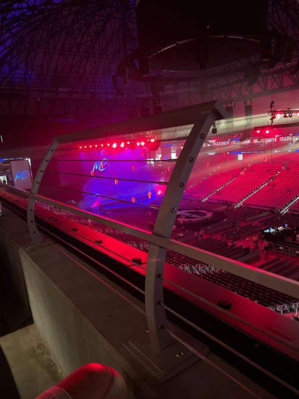 Dickies Arena, section: 219, row: 1, seat: 15