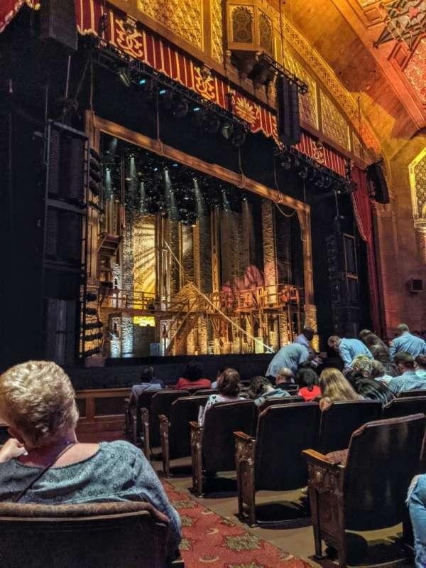 Fox Theatre (Atlanta), section: Orchestra L, row: K, seat: 3