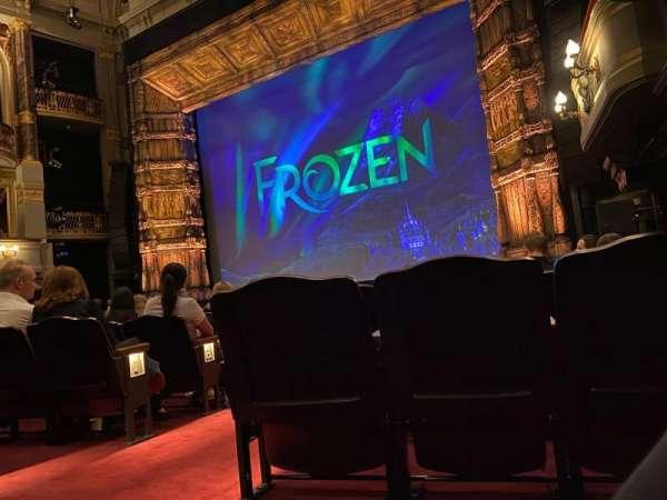 Theatre Royal Drury Lane, section: Stalls, row: M, seat: 12
