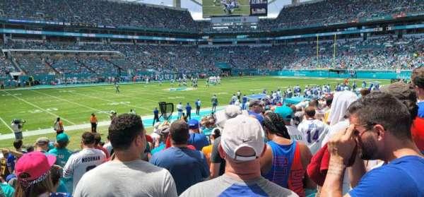 Hard Rock Stadium, section: 121, row: 17, seat: 6