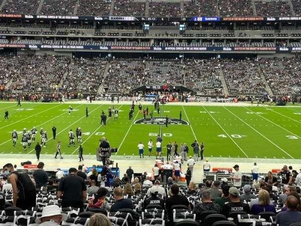 Allegiant Stadium, section: C112, row: 29, seat: 9