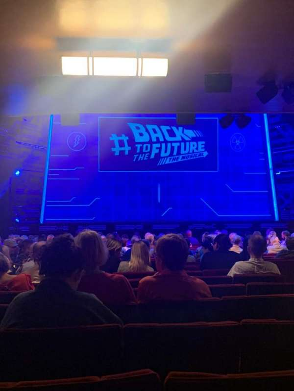 Adelphi Theatre, section: Stalls, row: U, seat: 22