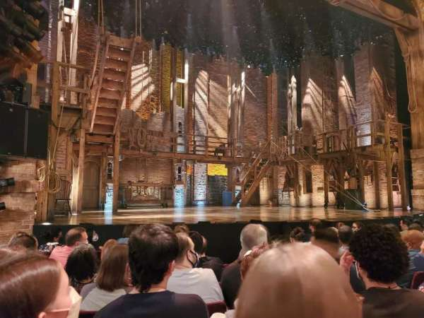 Richard Rodgers Theatre, section: Orchestra L, row: G, seat: 9