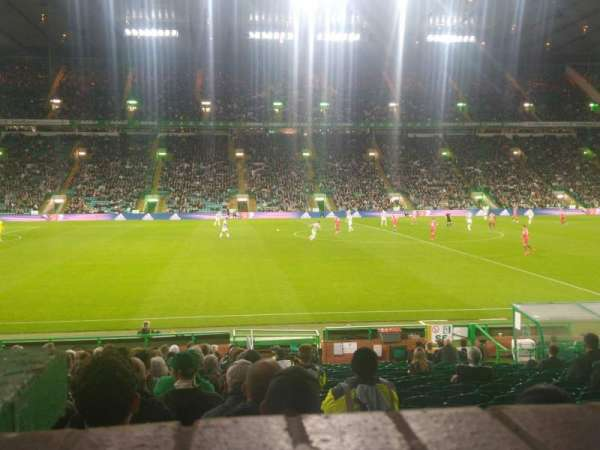 Celtic Park, section: WS2, row: A, seat: 12