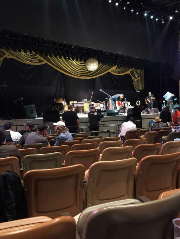 Bethel Woods Center for the Arts, section: 3, row: G, seat: 6