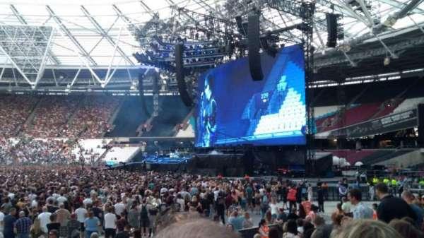 London Stadium, section: 111, row: 12, seat: 232