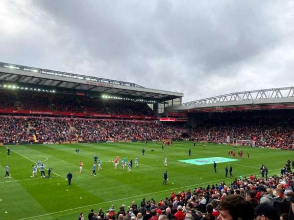 Anfield, section: L2, row: 33, seat: 49