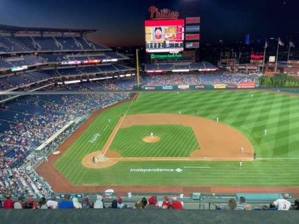Citizens Bank Park, section: 416, row: 1, seat: 2